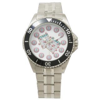 Bingo Cards and Balls Wrist Watch