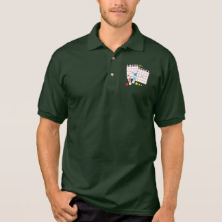 Bingo Cards and Markers Polo Shirt