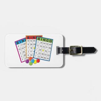 Bingo Cards Bag Tag