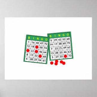 Bingo Cards Poster