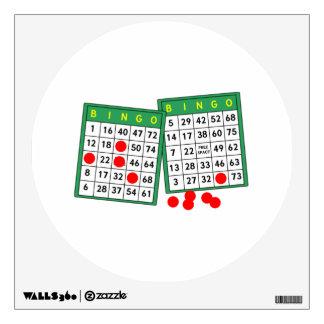 Bingo Cards Room Graphics