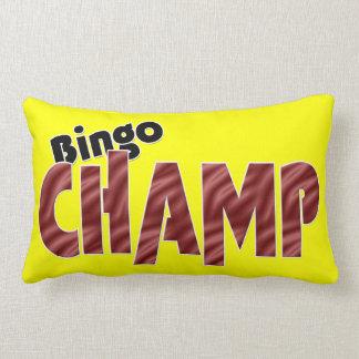 Bingo Champ Champion 2 Sided Pillow