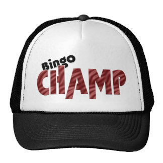 Bingo Champ Champion Vegas Style Hat