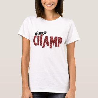 Bingo Champ Vegas Style Shirt