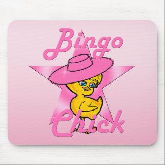 Bingo Chick #8 Mouse Pad