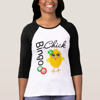 Bingo Chick Tee Shirts