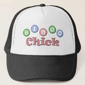 Bingo Chick Trucker Hat