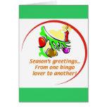 Bingo Christmas card