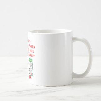 bingo classic white coffee mug