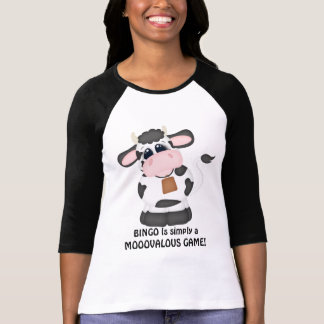 Bingo cow Gambling fun t-shirt