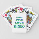 Bingo del amor del amor barajas de cartas
