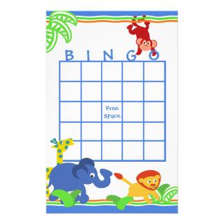 Bingo del safari  papeleria