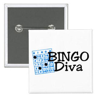 Bingo Diva Pin