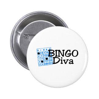 Bingo Diva Buttons