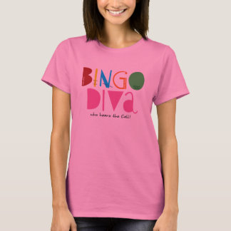 Bingo Diva Ladies Long Sleeve T-Shirt