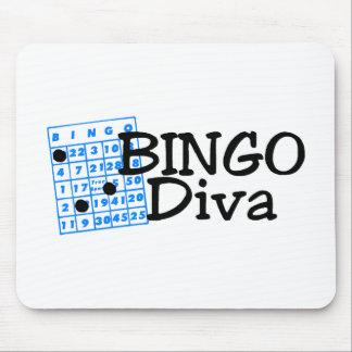 Bingo Diva Mousepads