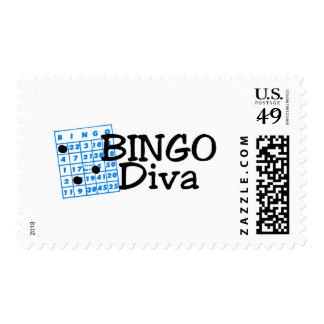 Bingo Diva Postage
