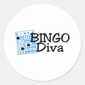 Bingo Diva Sticker
