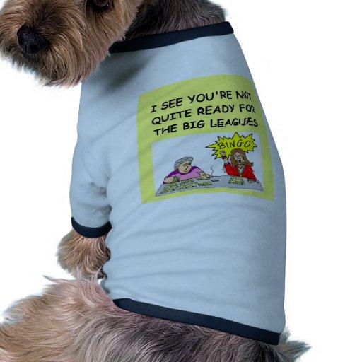 bingo dog tee shirt