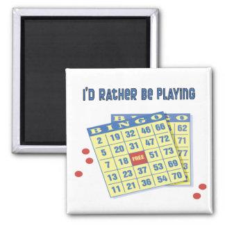 Bingo: Estaría jugando bastante Imán Cuadrado