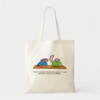 Bingo F Word Cartoon Bag
