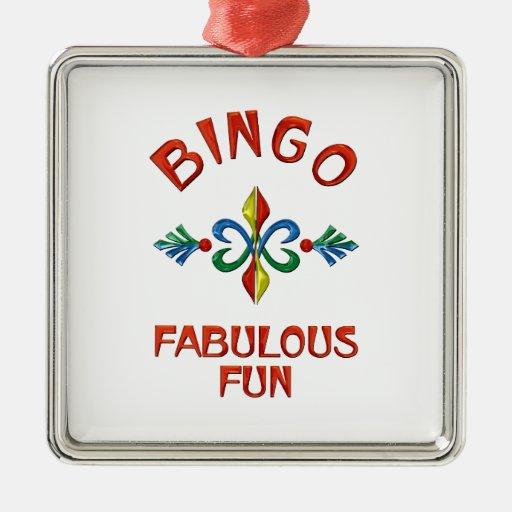 Bingo Fabulous Fun Christmas Ornaments