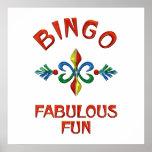 Bingo Fabulous Fun Posters