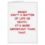 bingo felicitación