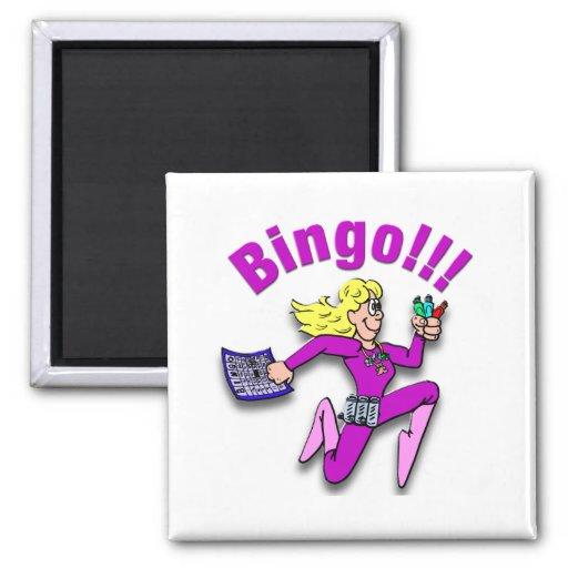 Bingo!!! Fridge Magnets