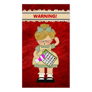 Bingo Fun Cartoon Mini Doodle card Double-Sided Standard Business Cards (Pack Of 100)