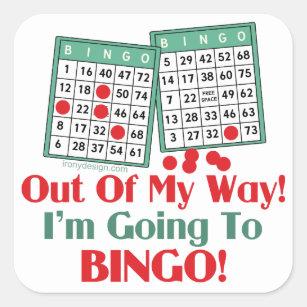 Bingo Quotes Crafts Party Supplies Zazzle