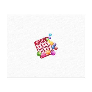 Bingo Game Canvas Print