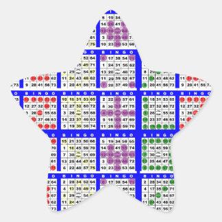 Bingo Game Patterns Large Grid Stickers