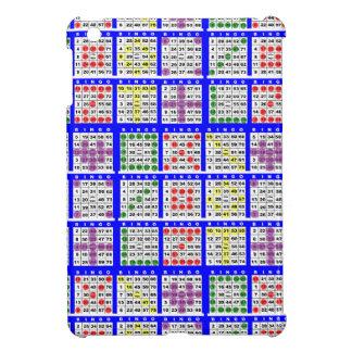 Bingo Game Patterns Large iPad Mini Covers
