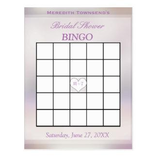 Bingo Game   Tree of Life Postcard