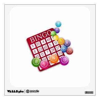 Bingo Game Wall Stickers