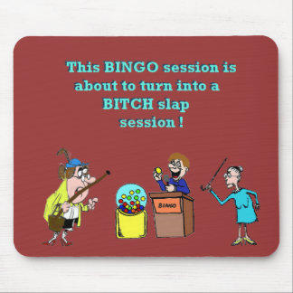 Bingo Gone Bad Mouse Pad
