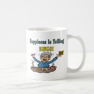 Bingo: Happiness Is Classic White Coffee Mug