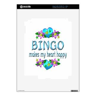 Bingo Heart Happy Skin For iPad 2