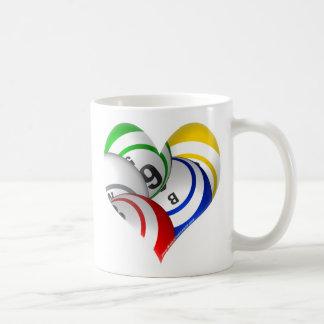 Bingo heart logo mug! coffee mug