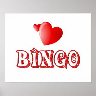 Bingo Hearts Poster