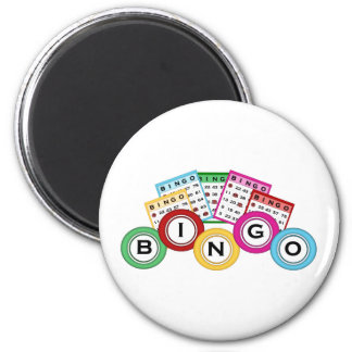 Bingo Imán De Frigorifico