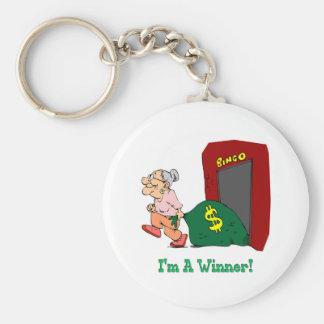 Bingo - I'm A Winner Keychain