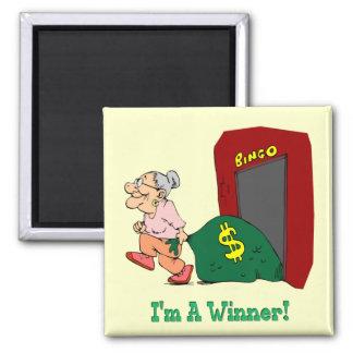 Bingo - I'm A Winner Magnet
