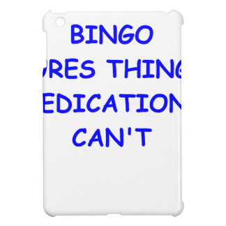 BINGO iPad MINI COVER