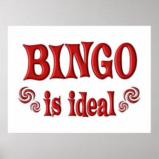 Bingo is Ideal Poster
