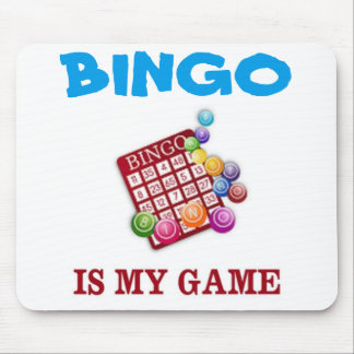 BINGO IS MY GAME MOUSE PAD