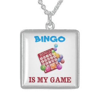 BINGO IS MY GAME PENDANT