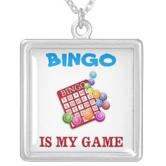 BINGO IS MY GAME NECKLACE