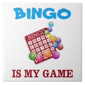 BINGO IS MY GAME TILE